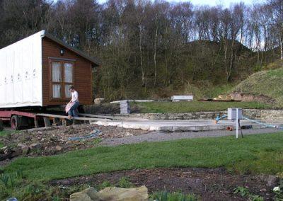 Lodges Development Unloading New Lodge